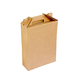 Caixa p/ 3 Garrafas de Vinho 26x8x31cm