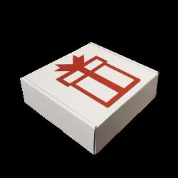 Caixa Atégina L Red Gift 30x30x10cm