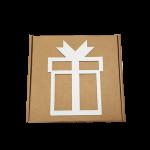 Caixa Atégina L White Gift 30x30x10cm