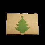 Caixa Catelo S Green Christmas Tree 15x10x3cm