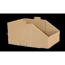 Caixa Expositora Empilhável S 40x15x20 cm